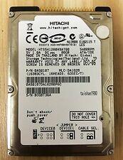Hitachi HTS541280H9AT00 80GB IDE 2.5inch drive  5400 RPM