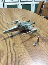 STAR WARS 1995 Action Fleet X-Wing with Figures Complete No Stand See Pictures