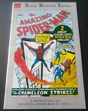 The Amazing Spiderman #1 SCARCE NEWSSTAND COPY Marvel Milestone Edition! VF+