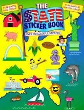 Discover the U. S. Sticker Book by Justine Fontes (1995, Paperback)