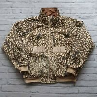 Vintage Columbia Camo Reversible Shooting Jacket Size L Hunting Camouflage