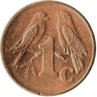 COIN / SOUTH AFRICA / 1 CENT 2000  #WT250