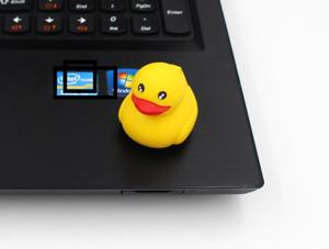 Quietsche Ente Entchen USB Speicher Stick 32GB Figur Geschenk Idee NEU