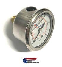 Sytec Fuel Pressure Gauge Liquid Filled 1/8 NPT Thread - FPG002