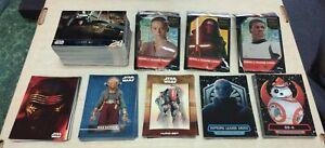 2016 Topps Star Wars Force Awakens Series 2 ... 163 Card Mini Master Set