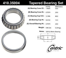 C-TEK Standard Wheel Bearing & Race Set fits 1986-1989 Nissan D21  C-TEK BY CENT