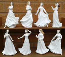 Unboxed Figurine White Royal Doulton Porcelain & China