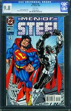 Steel #14 1994-DC Comics Superman- -CGC Graded 9.8 - 0788708005