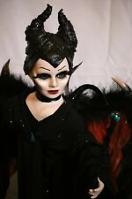 Maleficent doll handmade porcelain ooak doll Disney movie character