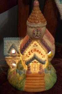 CERAMIC PORCELAIN LIGHT School House Light/Lamp