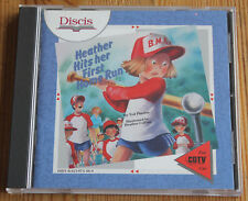 Commodore cdtv Heather Hits Her First Home Run discis (Amiga, 1991, Jewel-Case)