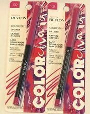 (2) Revlon Color Change Colorstay Lip Liner, 102 Magenta