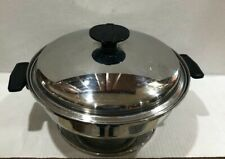 """Vgt Gracious Lady 11"""" Round Electric Skillet -Pre-owned and Works"""