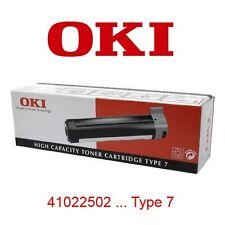 TONER OKI NEGRO · OKIPAGE 20 / 24 SERIES (4102250 · TYPE 7) · ORIGINAL | NUEVO