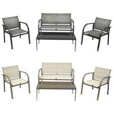 Salons et sets de meubles extérieurs gris