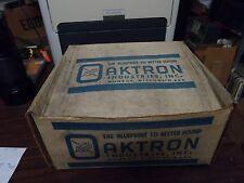 """NOS Oaktron 1960 's Alnico Magnet 10"""" Speaker"""