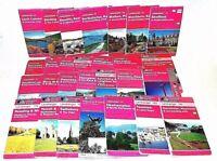 28 x Ordnance Survey Landranger Maps Bundle 1:50 000 Various UK Regions