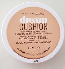Maybelline Dream Cushion Flüssig Make-Up Foundation Liquide 40 Fawn Neu