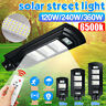120W-360W LED Lampione Stradale Faro Pannello Solare Telecomando  Fotovoltaico