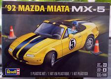 1992 Mazda MX 5 Cabrio Miata Roadster JDM 1:25 Revell 4432 wieder neu 2017