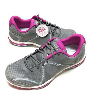 Ryka Womens Influence Gray Mesh Dance Shoes Sneakers 8 Walking BHFO 8800