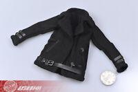 1/6 Lambskin jacket sherpa Coat Suit Black for 12'' TBLeague Female Figure