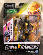 "New in Box Saban?s Power Rangers Beast Morphers Gold Ranger 6"" Action Figure #1"