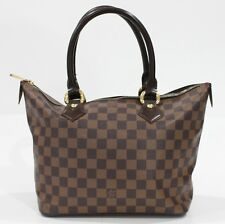 Used Authentic Louis Vuitton LV Bag Saleya Damier Ebene PM