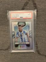 IN HAND 2018 World Cup Prizm Soccer Lionel Messi Silver PSA 9 FREE SHIPPING