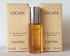 Calvin Klein ESCAPE Eau de Parfum 2 X 15 ml = 30 ml alte Version (Reisegröße) CK