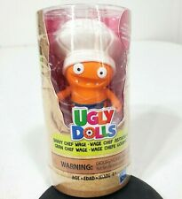Hasbro Ugly Dolls Savvy Chef Wage White Hat Collectible Figures Brand New Sealed
