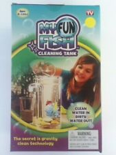New My Fun Fish Cleaning Tank The Aquarium that cleans itself as seen on Tv