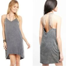 Chaser Heirloom Woven Strappy Halter Dress M NWT Retail $100