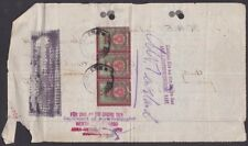 Austria - 1914 - US Embassy Document with 3 Revenue Stamps Tied by Vienna Cancel