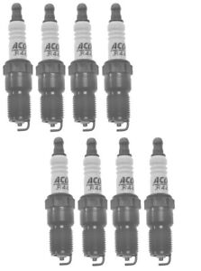 Set Of 8 Spark Plugs Pre-Gapped .060 AcDelco For Caddy GMC K3500 Chevy C1500 V8