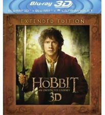 The Hobbit an Unexpected Journey 3d Extended Blu-ray Hologram Cover Like