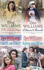 DEE WILLIAMS ___ 4 BOOK SET ___ BRAND NEW __ FREEPOST UK