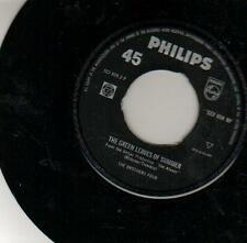 JUKEBOX SINGLE 45 BROTHERS FOUR GREEN LEAVES OF SUMMER