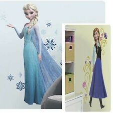 Disney FROZEN ELSA & ANNA 62 Peel and Stick Giant Wall Decal Stickers Set