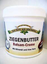 Ziegenbutter Balsam Creme m. Olivenöl u. Aloe Vera 200 ml