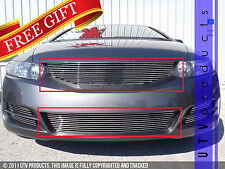 GTG 2009 - 2011 Honda Civic Coupe 2PC Polished Replacement Billet Grille Kit