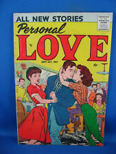 PERSONAL LOVE 1 VG F FIRST ISSUE 1957