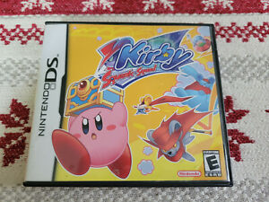 Kirby Squeak Squad - Authentic - Nintendo DS - Case / Box Only!