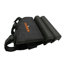 Tourbon Rifle Cheek Rest Pad Ammo Carry Pouch Adjustable Non-slip Hold 10 Bullet