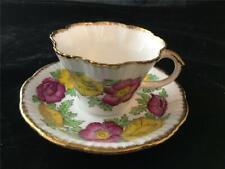 Vintage Salisbury China Cup & Saucer Iceland Poppy