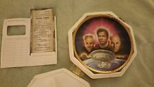 The Ultimate Confrontation Star Trek Plate- The Hamilton Collection