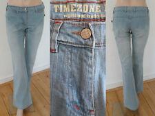Timezone Jeans Schlaghose Retro Schlag Stretch light blue denim 29 NEU 4ca1ed8998