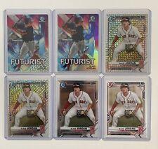 2021 Bowman Blaze Jordan 1st Mojo/Futurist/Chrome & Paper Mega Box (6 card lot)!