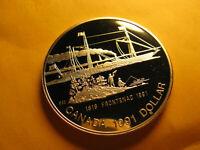Canada  Rare 1991 Silver Dollar Gem Proof Beauty IDJ318.