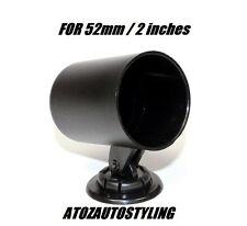 "Rotating Gauge Pod 52mm / 2"" Black Universal E-tech"